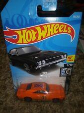 Hot Wheels custom Dukes of Hazzard General Lee  69 Charger 500 super cool car ..