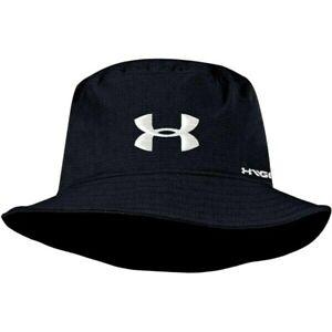 Under Armour UA Golf Airvent Bucket Hat Black/White UH616M Large L/XL #80400