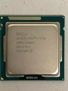 Intel Core i7-3770 3.4 GHz Processor SR0PK