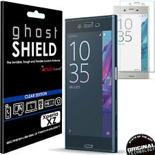 TECHGEAR Clear (TPU) FULL COVERAGE Screen Protector Cover for Sony Xperia XZ