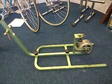 VINTAGE Olmo Steel Framed Turbo Trainer FACTORY Made * raro *
