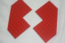 LEGO: Plate 10 x 10 Without Corners (#2401) RED