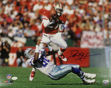 Deion Sanders Autographed/Signed San Francisco 49ers 16x20 Photo JSA 21963