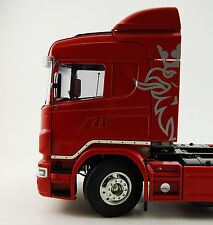 Bausatz Truck Scania R470 R620 Side Door Bar Fahrerhaus mit LED gelb 7,2volt