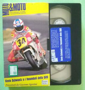 VHS Ita Sportivo KEVIN SCHWANTZ E I FUNAMBOLI DELLA 500 Giacomo Agostini (V155)