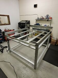 1.5 x 1.5m 3 axis CNC Router Plasma Machine 2.2KW Spindle Linear Rail UK