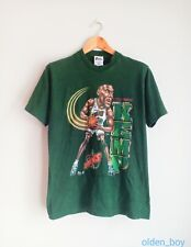 Rare Vintage Shawn Kemp caricature 90's t-shirt NBA basketball