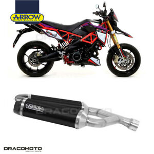 APRILIA DORSODURO 900 2019 Pot échappement ARROW THUNDER ALU Noir CC