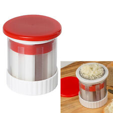 Home Stainless Steel Cheese Grater Butter Cutter Hand Rotary Mill Slicer Tool