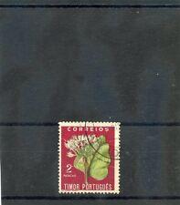 TIMOR  Sc 268(SG 332)F-VF USED  2P FLOWER $24