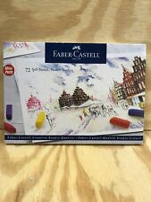 FABER-CASTELL 12 84 72T Vibrant Colors Soft Mini Pastels New Box of 72 Colors