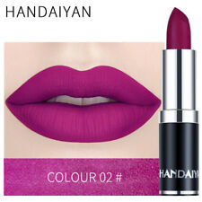 Matte Lip Lipstick Moisturizing Long Lasting Purple Lip Makeup Cosmetics
