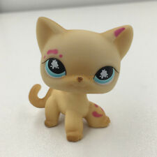 Littlest Pet Shop RARE #816 Splatter Paint Messiest Short Hair Cat Kitty LPS Toy