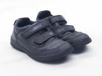 Clarks Boys UK Size 10.5 Black Infant Shoes
