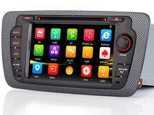 "7"" HD Autoradio Navigazione GPS DVD Player Radio Stereo Per Seat ibiza 2009-2013"