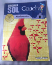 Virginia SOL Coach grade 8 Mathematics Textbook Book Good Standards Of Learning