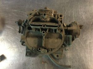 1977 Chevrolet Quadrajet Carburetor 4 barrel manual transmission,for rebuild