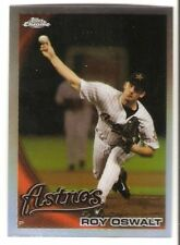 2010 TOPPS CHROME REFRACTOR #121 ROY OSWALT HOUSTON ASTROS PHILLIES CY YOUNG