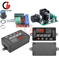 DC8-55V 10A/5V-35V 5A PWM Motor Speed Controller Regulator Dimmer Display LED