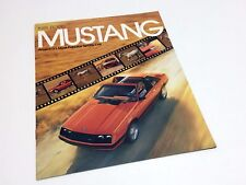 1981 Ford Mustang Ghia Cobra Brochure