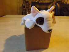 Ty Beanie Baby Butch the bull terrier MWMT 1998 Retired