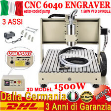 1.5KW USB 3 ASSI 6040 CNC INCISIONE ENGRAVER ROUTER Milling MACCHINA Fresatrice