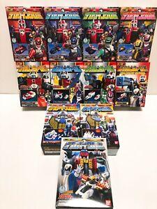 Power Rangers SPD Dekaranger Mini pla All Megazord Complete set 11 BOX NEW F/S