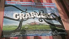 Grabbers. Original film poster. 30x40in. Signed by Russell Tovey