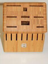 New listing Victorinox Swiss Army Wooden Knife Block
