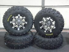 "HONDA RANCHER 420 (SRA) 25"" BEAR CLAW ATV TIRE & CYCLONE WHEEL KIT SRA1CA"