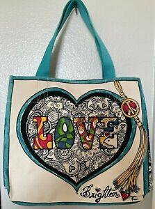 New Brighton Summer Of Love Canvas Bag Purse Tote Tom Clancy Hippie