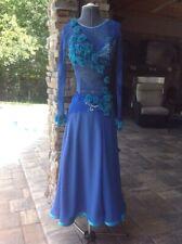 Ladies Ballroom Dresses Smooth & Rhythm/Latin Ballroom Dress - M Couture 0-6