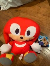 NWT Sonic The Hedgehog Knuckles Plush Licensed