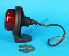 BRITAX RED Rear Marker Lamp Light Rubber Body Ifor Williams Trailers & Horsebox