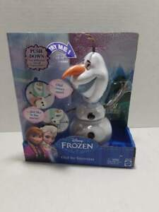 NEW Mattel Disney Frozen Olaf The Snowman Pull Apart Face Change Toy