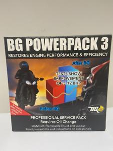 BG POWERPACK 3 OIL CHANGE SERVICE PACK INCREASE POWER 5-12 BHP HONDA SUZUKI YAMA