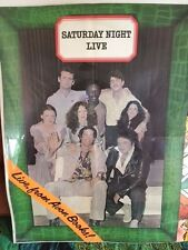 SATURDAY NIGHT LIVE *PROMOTIONAL POSTER*
