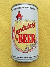 330 Ml Mandalay Beer Pull Tab Beer Can Foodstuff Industries Mandalay Burma