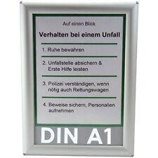 Alu Klapprahmen DIN A1 Opti Frame®, Wechselrahmen, Plakatrahmen, Posterrahmen