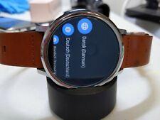 Motorola Moto 360 1st Gen 46mm Case mesh metal  Bracelet Smart Watch