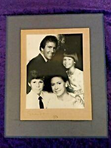 1973 Princess Margaret & Lord Snowdon hand signed Presentation Photograph