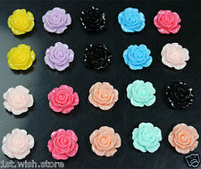 20pcs Mixed Cute Flower FlatBack Resin DIY mobile phone case decoration cosmetic