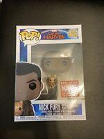 Funko Pop! Captain Marvel - Nick Fury w/ Goose #447 Collector Corps Exclusive