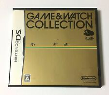 USED Club Nintendo DS Game & Watch Collection JAPAN and import Japanese game