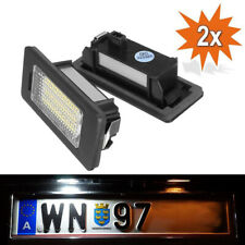 2x LED Licence Number Plate Light Kit Audi A3 A4 S4 B8 A5 S5 Q5 TT A6 S6 A7 S7