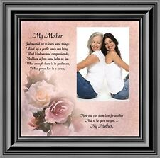 My Mother, Picture Frame, Gift from Daughter for Mother, 10X10 6767B