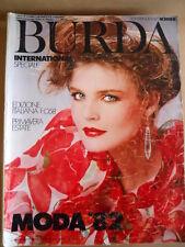 BURDA INTERNATIONAL  Speciale Primavera Estate 1982  [M6]