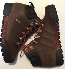 adidas Mens Brown Suede Sneaker Boot Black Red Size 11.5 C75628 Blauvelt