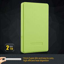 "2.5"" USB 2.0 SATA HD HDD Hard Drive External Enclosure Mobile Disk Case Box PC"