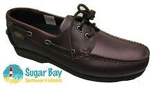 Henri Lloyd RAZOR Moccasin Deck Shoes Brown UK size 11